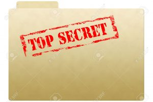3435152-Secret-dossier-avec-le-document-top-secret-sur-la-face-imprim-e-Banque-d'images